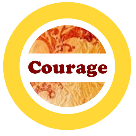 courage yellow